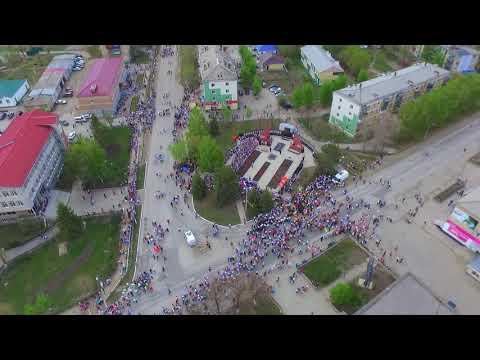 Парад в честь победы Карталы 2019 г