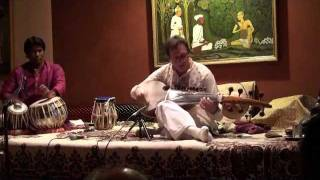 Ken Zuckerman - Sarod, Raga Madhumalati - Slow & Fast Gats in Tintal