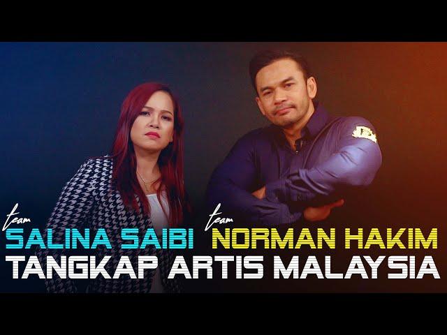 Norman Hakim & Salina Saibi 'Tangkap' Pelakon Jahat Malaysia [OB CHALLENGE]