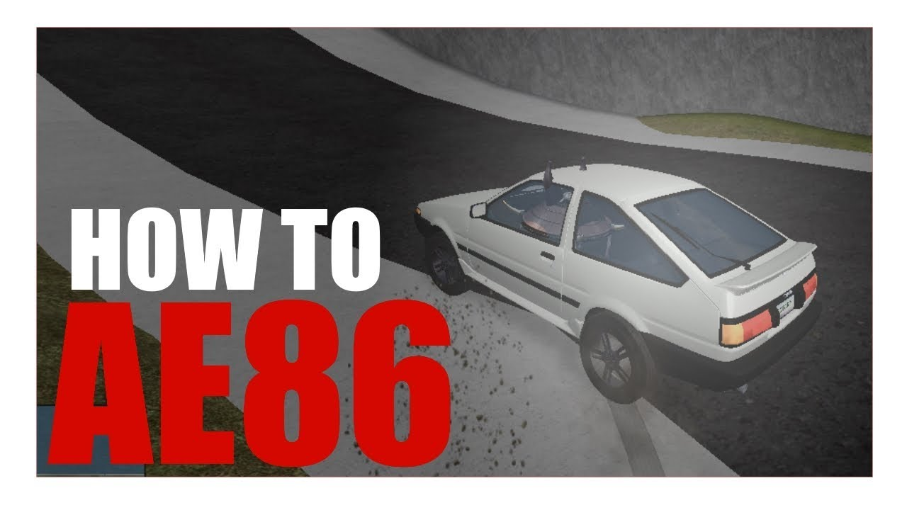 How to use the AE86 [ROBLOX Vehicle Simulator] by ThatQaz