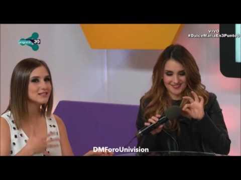 #VIDEO @DulceMaria en el programa 3.0 [Parte 2]