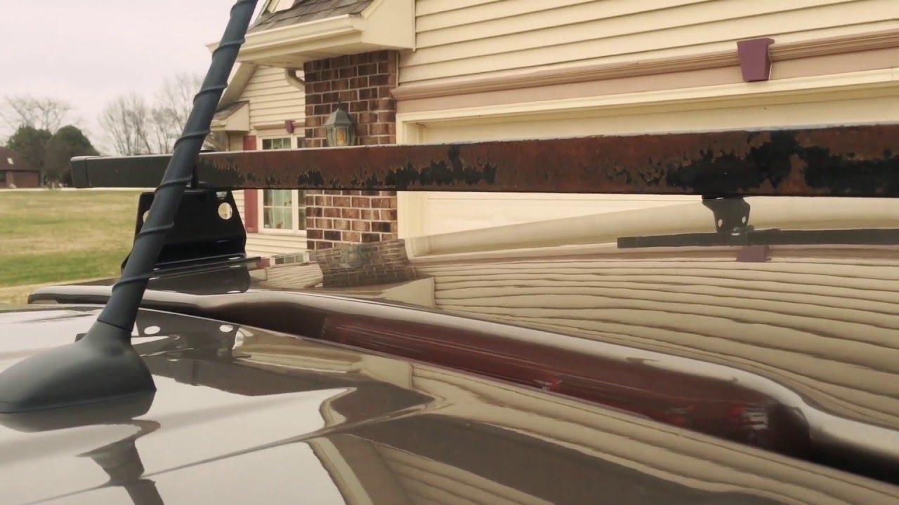 vantech ladder rack review roof rack cross bars kayak rack van tech rusty junk
