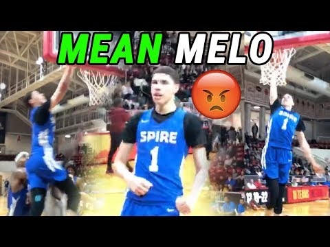 LaMelo Ball GETS FREAKY In Florida! Putback Dunk And Near Triple Double 😱