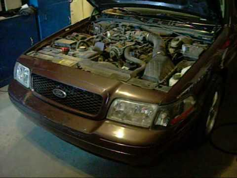 Crown Vic 5 4 Swap Engine Youtube