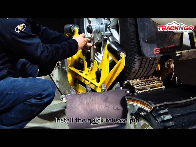 4.2 HOW TO INSTALL THE TRACKS ON THE VEHICLE recommended sequence)