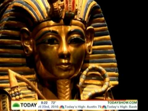 king tut nyc opening april 23 2010 today show youtube. Black Bedroom Furniture Sets. Home Design Ideas