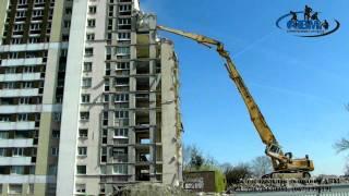 видео Небоскреб с рельефом в Москва-Сити
