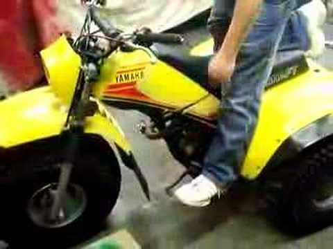 1985 yamaha three wheeler 200e youtube for Yamaha 200e 3 wheeler