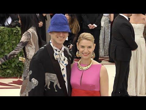 Claire Danes and Hugh Dancy at the 2018 MET Gala