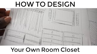 DESIGN YOUR OWN ROOM CLOSET STEP BY STEP| BEAUTYCUTIGHT