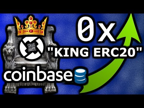 0x Protocol (ZRX) | 1st ERC20 To Coinbase | $ZRX Will Moon 2018 | Ultimate DEX Protocol