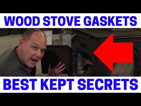 (Part 3) Wood Stove Tips & Tricks - Rope Gasket Seal Replacement