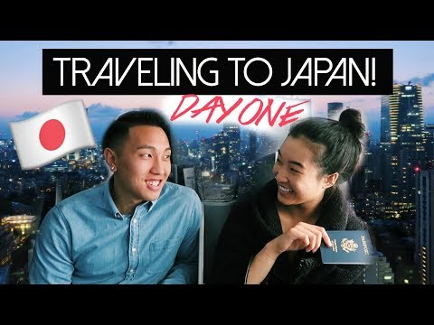 WE'RE GOING TO JAPAN! | Tokyo Day 1