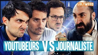 Youtubeurs VS Journaliste