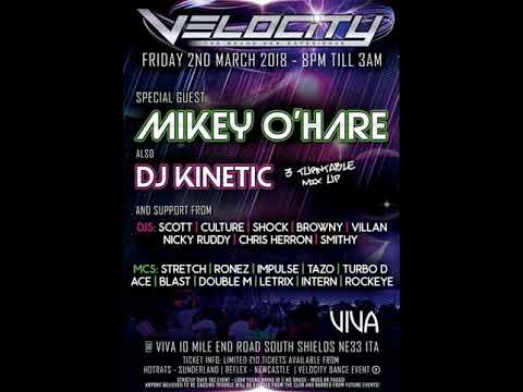 DJ Matty O Mc Impulse @ Velocity 2.3.2018