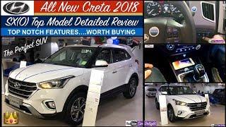 Hyundai Creta 2018 SXO Review   New Creta Top Model Interior,Features   Creta 2018 Top Model Sxo