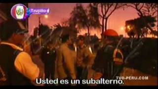 Víctor Cubas esposo de Ma-Malu Costa armo un escándalo en Trujillo