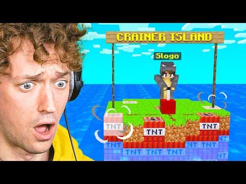 SLOGO BLEW UP My Minecraft ISLAND!