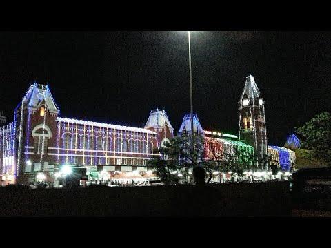 Chennai Central, Chennai Egmore Beautifully Decorated on 14th August 2017 night||Indian Railways!!