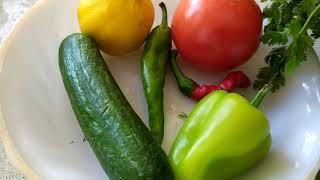 Здоровая еда-очистительный салат,поднимаем иммунитет!