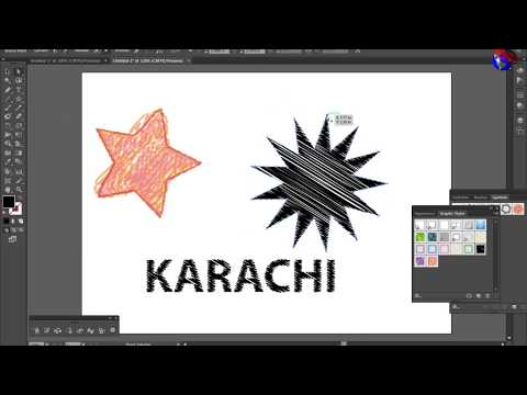 ILLUSTRATOR TUTORIAL Class 3 | Spray & Graphic Style Tools | MULTIMEDIA GURU | URDU/HINDI thumbnail