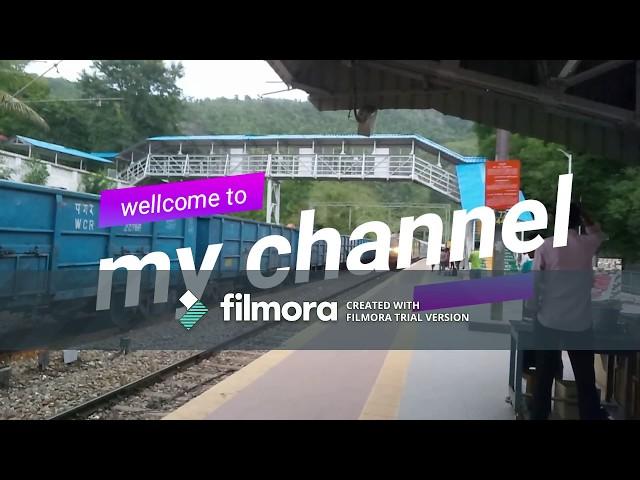 araku valley to visakhapatnam train journey video.