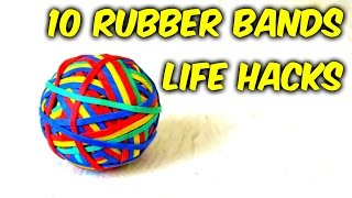 10 Simple Rubber Bands Life Hacks