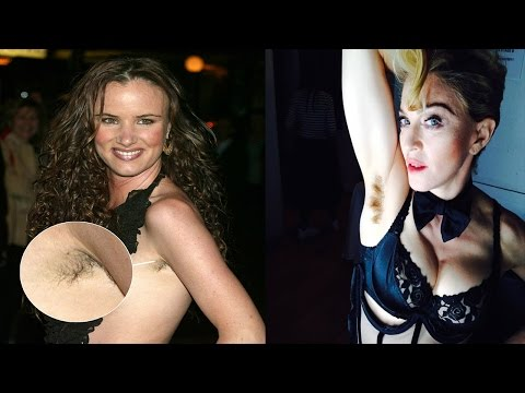 Celebs Who Refuse To Shave Armpit!