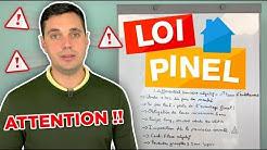 ATTENTION DANGER !! (LOI PINEL) Défiscalisation - Réduction impôts - Robin Eldin