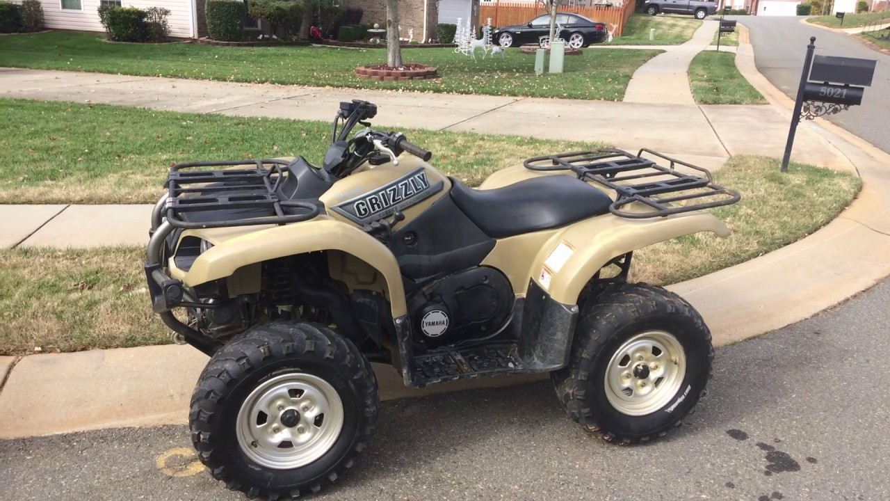 Yamaha Grizzly 660 >> Yamaha Grizzly 660 Review Youtube