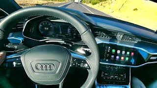 POV-обзор: Audi A7 2019! Тест-драйв в Африке!) Обзор новинки от Ауди на серпантине в ЮАР – 340 сил