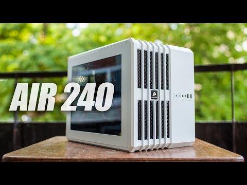 Corsair AIR 240 (mATX) PC Cube Case Review