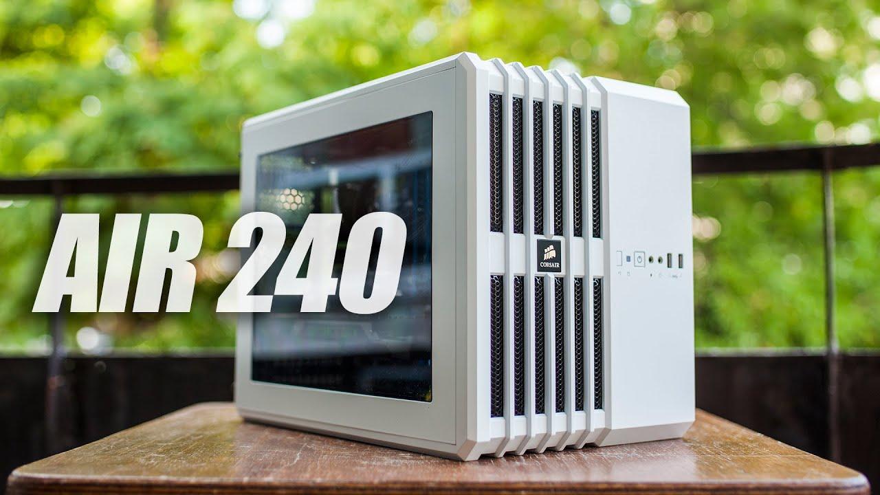new styles 5e025 592e8 Corsair AIR 240 (mATX) PC Cube Case Review