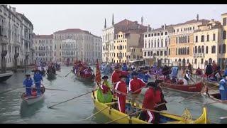 انطلاق مهرجان مدينة البندقية السنوي
