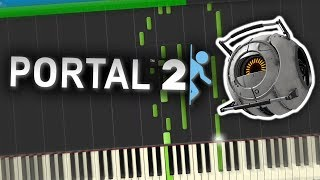 Portal 2 Turret Wife Serenade Piano Tutorial Synthesia