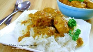 how to make chicken curry
