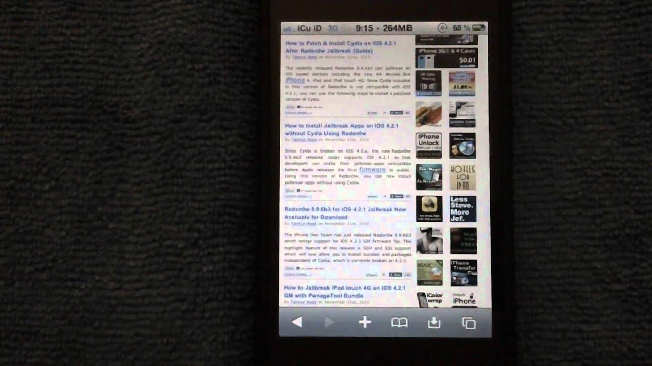 Cydia download iphone 3g 4 2 1