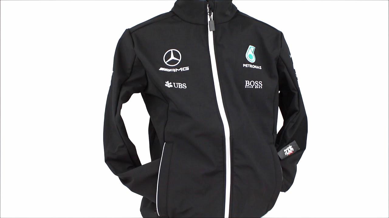 sitio de buena reputación a9f6b b18f7 Chaqueta Softshell Mercedes AMG Oficial 2017