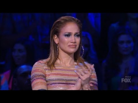 Jennifer Lopez Cries After 'Idol' Singer Reveals Abusive Past