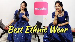 Best Ethnic Wear From Meesho👍|Meesho Haul|Online Shopping |kannan ❤️bhagavathy