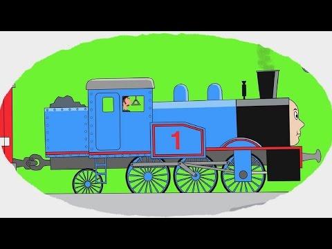 Мультфильм про поезда раскраска | Лучшие мультики онлайн