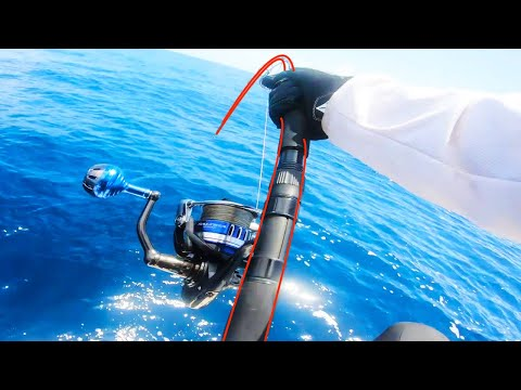 Extreme Jigging The Continental Shelf - We Hooked UNSTOPPABLES!