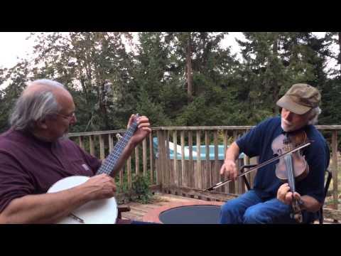 """Christmas Time in the Morning""  Civil war era fiddle tune - Joe Huff fiddle & John Meade banjo"