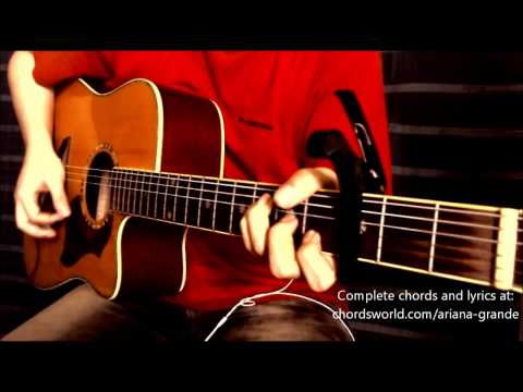 Popular Song Chords by Ariana Grande - How To Play - chordsworld