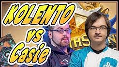 Kolento vs Casie - Hearthstone Grandmasters 2020 Swiss day 2 | Hearthstone | Kolento