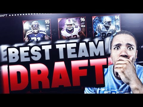 BEST TEAMS ONLY DRAFT! MADDEN 17 DRAFT CHAMPIONS