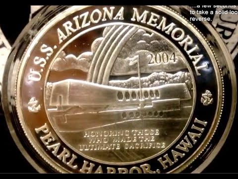 Pearl Harbor Silver Proof Coin | USS Arizona | God Bless The Dead