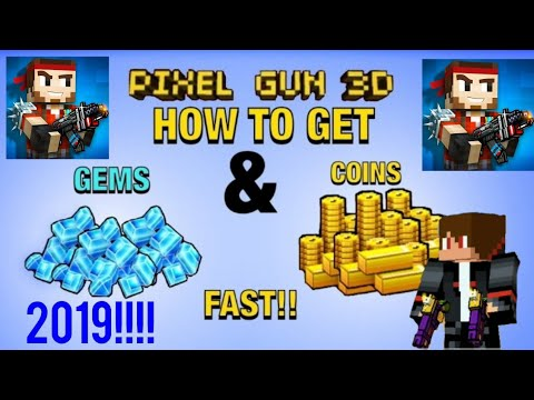 HOW TO GET COINS AND GEMS FAST IN PIXEL GUN 3D!!! [16.2.2] *NO HACKS OR APK'S*!!!