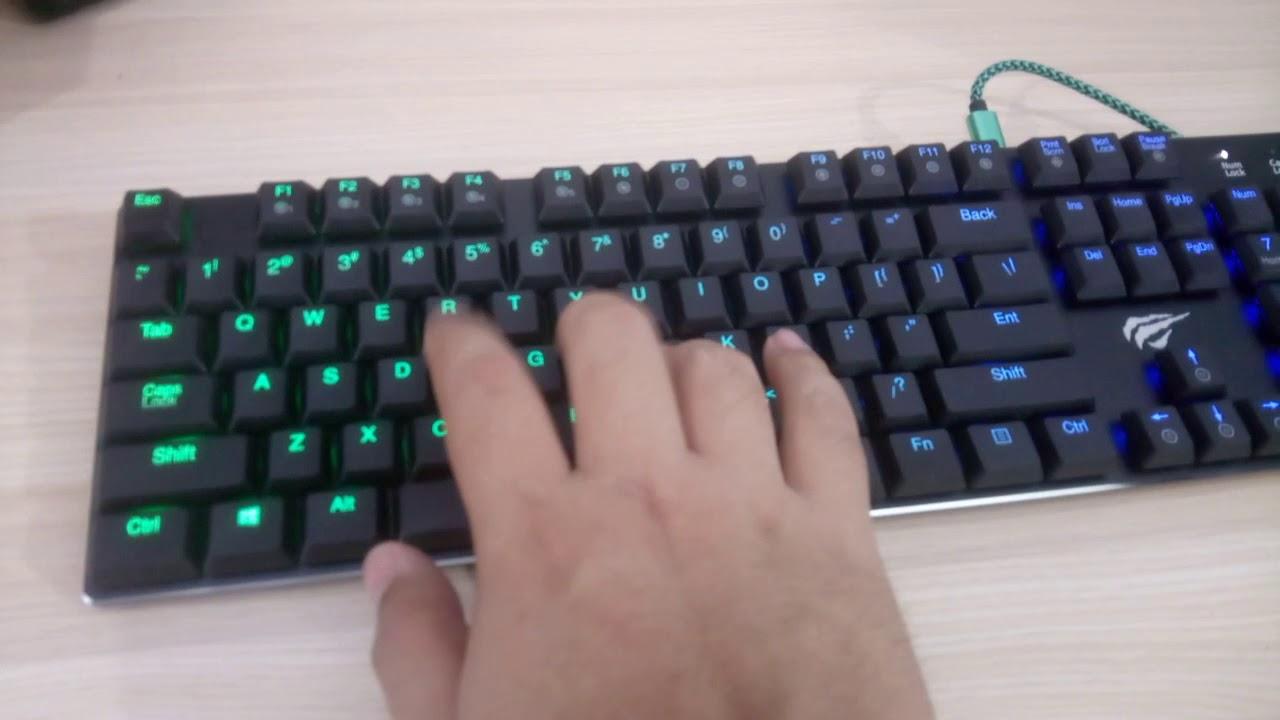 1f30ba0cf8a Review - HAVIT HV-KB395L Low Profile Mechanical Keyboard - Back2Gaming