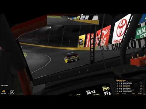 iRacing Nascar Series Open Bank of America 500 @ Charlotte 10-6-2016